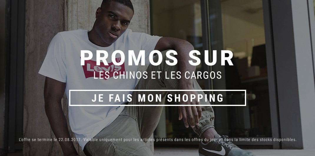 Chinos et Cargos Promos Unisexe