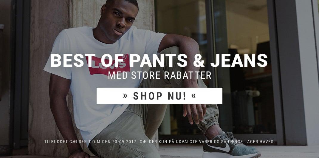 Pants & Jeans Sale Mænd