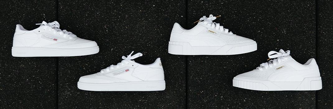 white sneakers unisex