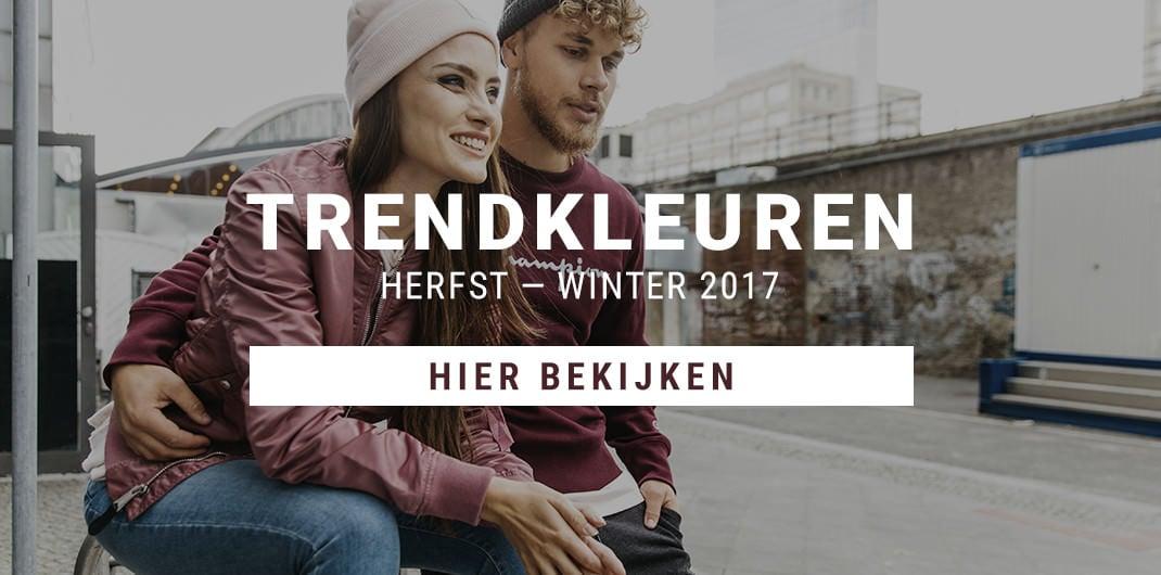 Trendkleuren Herfst - Winter 2017 Heren