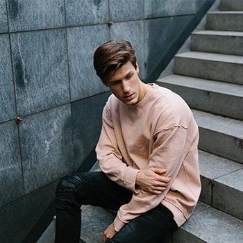 männer oversize pullover