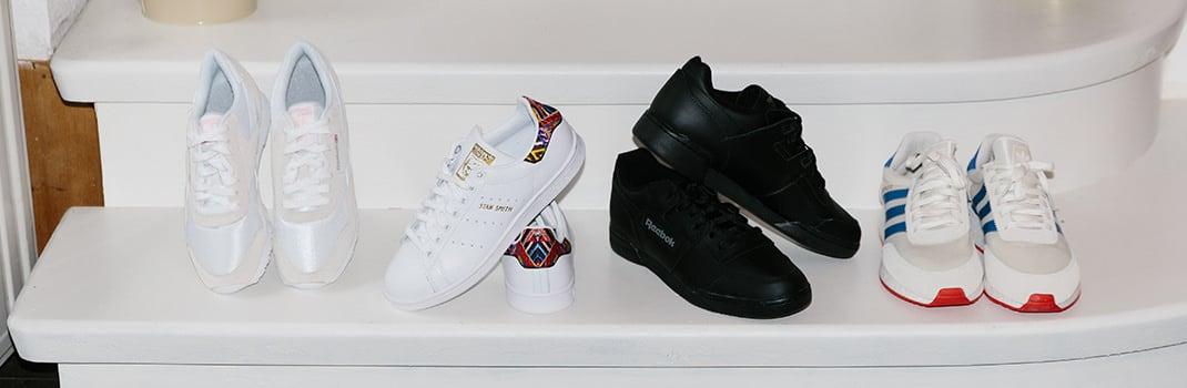 frauen low top sneakers