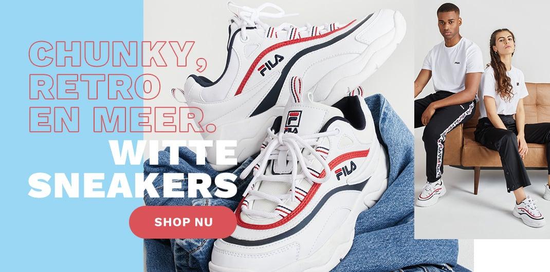witte sneakers uniseks