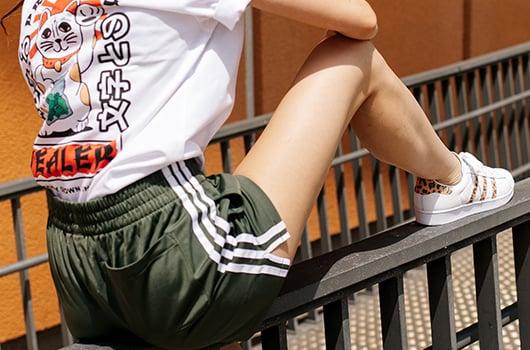 shorts frauen