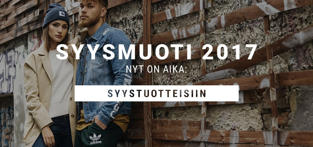 Syysmuoti 2017 Naiset