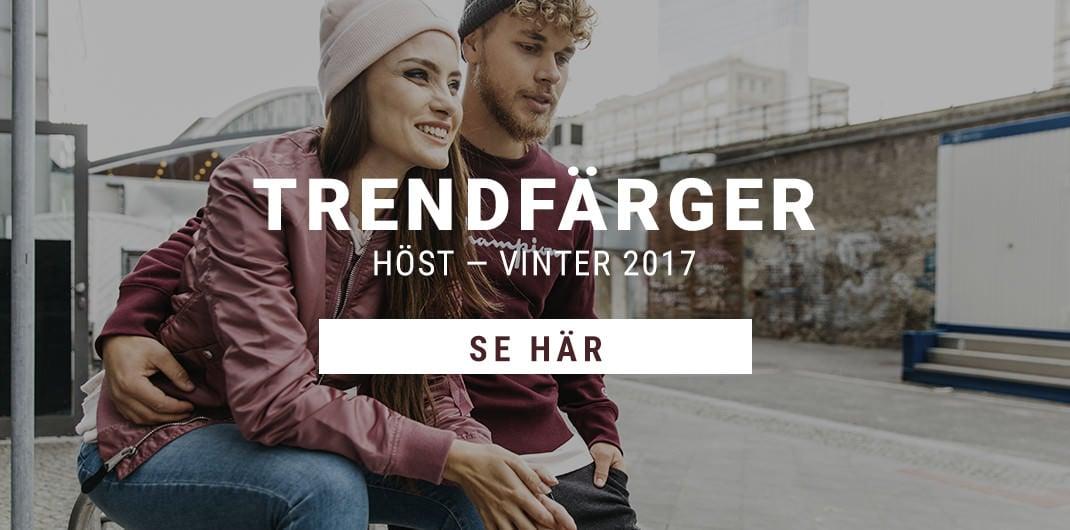 Trendfärger Höst - Vinter 2017 Unisex