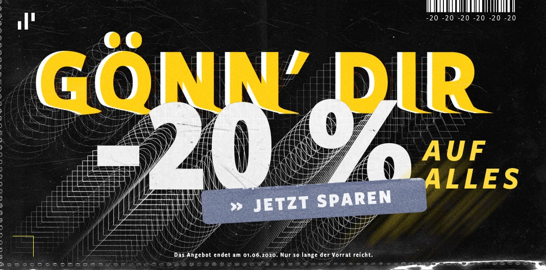 20% sale unisex