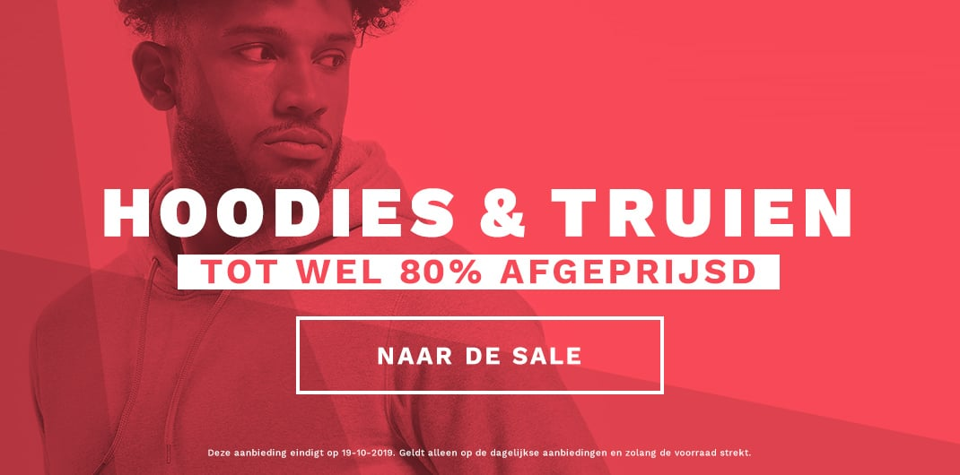 hoodies & truien sale heren