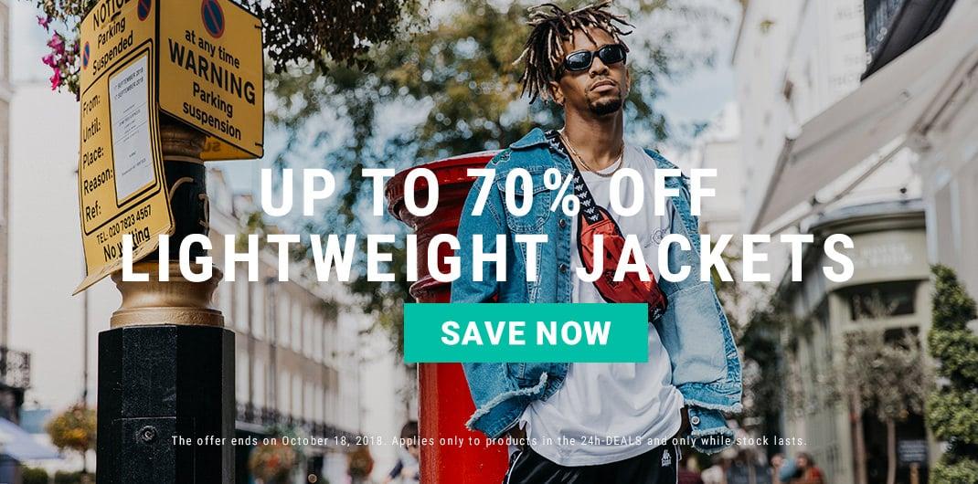 lightweight jackets sale