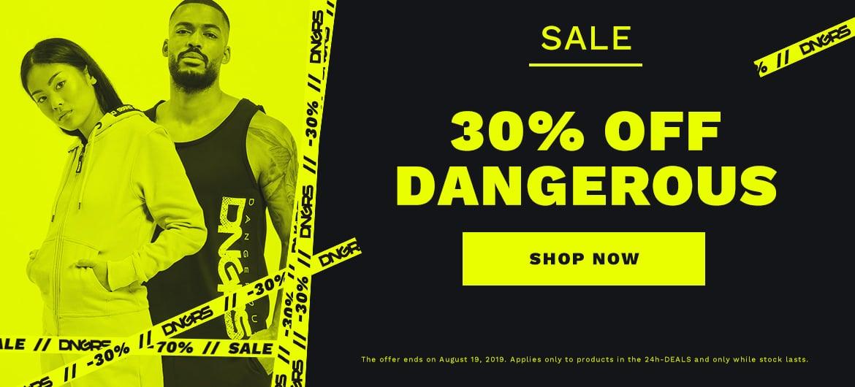 dangerous sale unisex