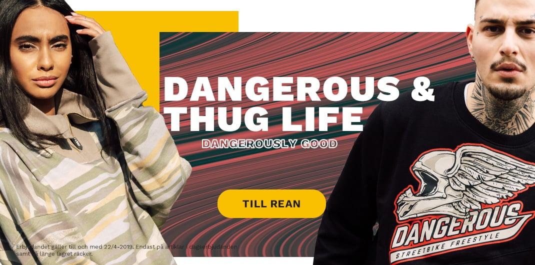 dangerous thug life rea unisex