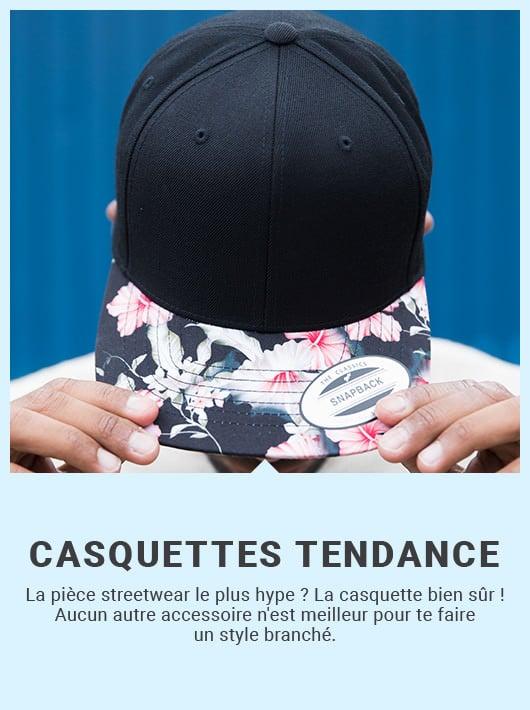 casquettes tendance