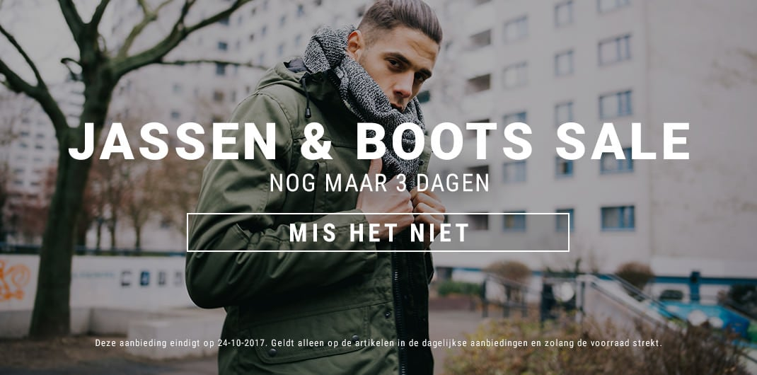 Jassen & Boots Sale uniseks