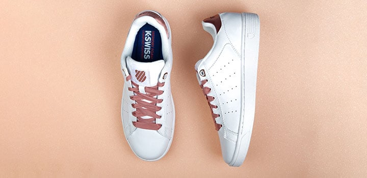 k-swiss clean court sneaker frauen