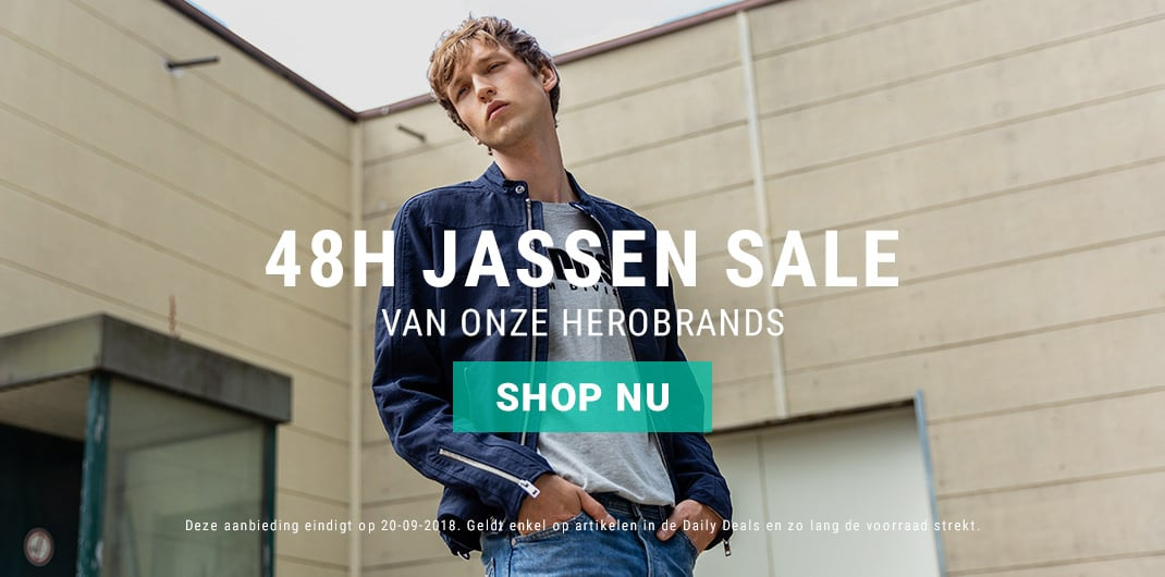 jassen sale heren