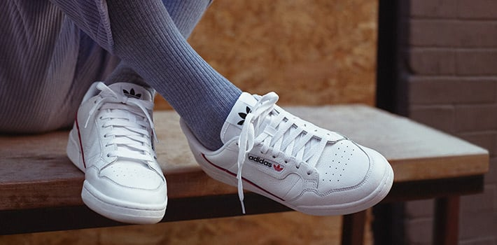 adidas continental 80 sneakers maenner