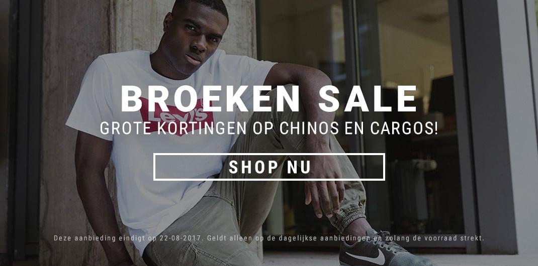 Chinos & Cargos Sale Heren