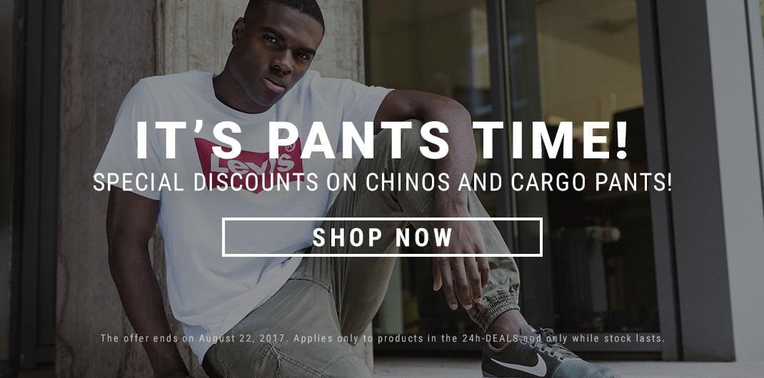 Chinos & Cargos Sale Unisex