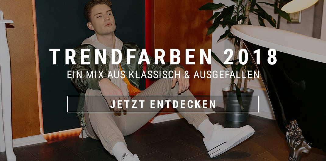 Trendfarben 2018 Unisex