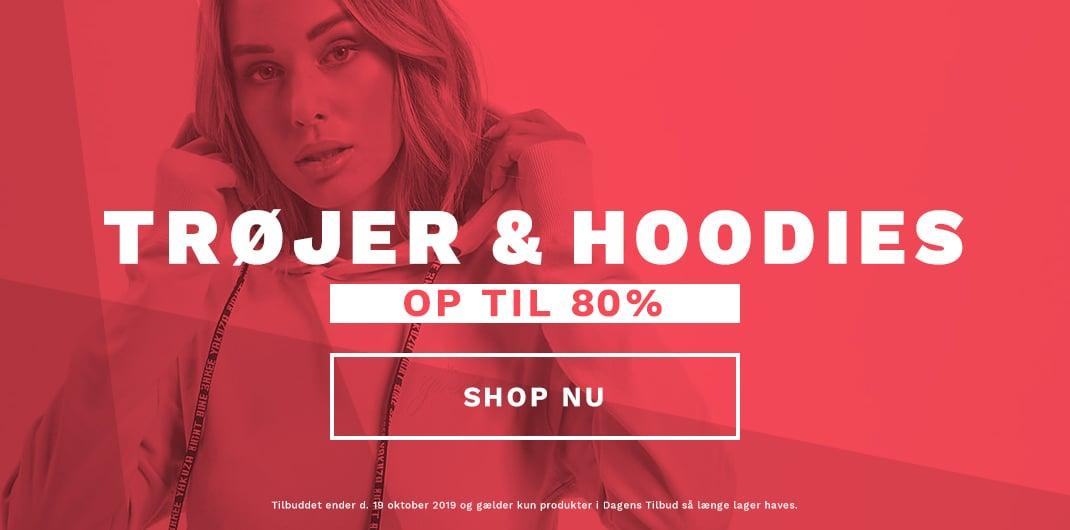 hoodies & trojer udsalg kvinder