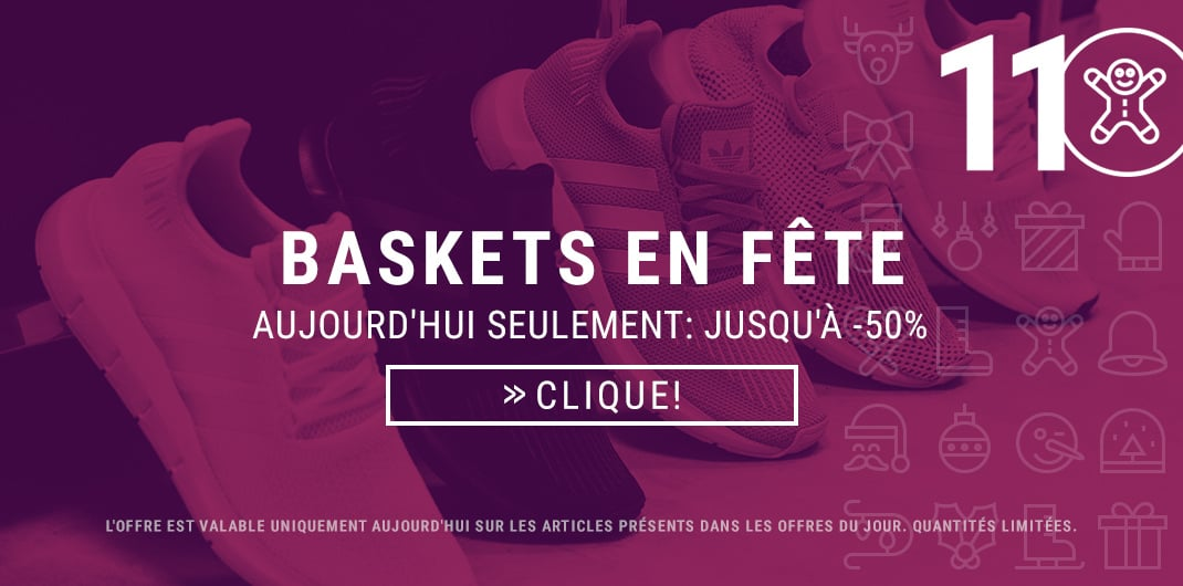 Promos baskets homme