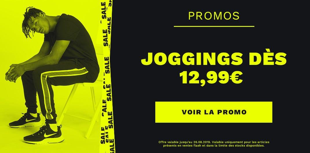 Promos joggings unisexe