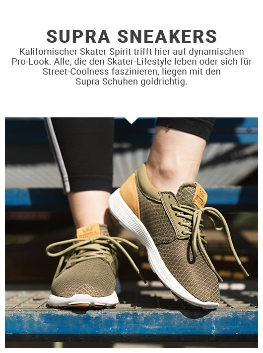 Supra Sneaker Modelle