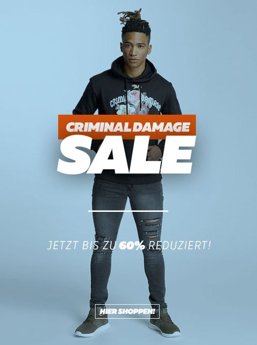 Burner.de - Criminal Damage Sale
