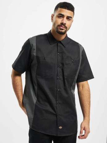 dickies-manner-hemd-2-tone-work-in-schwarz