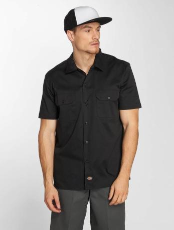 dickies-manner-hemd-short-sleeve-slim-work-in-schwarz