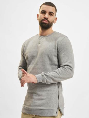 urban-classics-manner-pullover-side-zip-in-grau