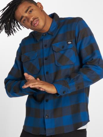 dickies-manner-hemd-sacramento-in-blau