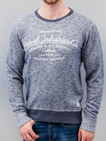petrol-industries-manner-pullover-california-in-blau