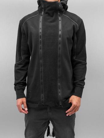 bangastic-manner-zip-hoodie-doppel-zip-in-schwarz