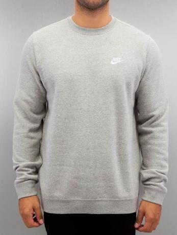 nike-manner-pullover-nsw-fleece-club-in-grau