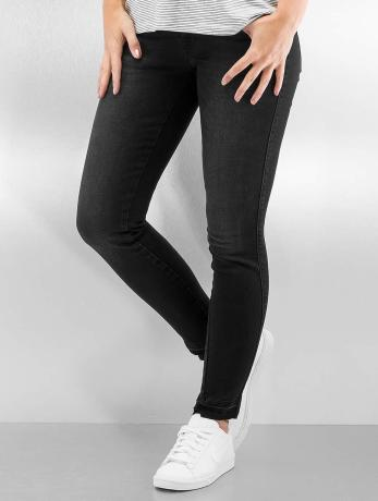 only-frauen-skinny-jeans-onlcoral-short-ankle-in-schwarz