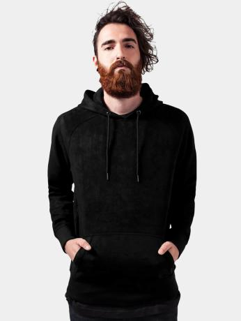 urban-classics-manner-hoody-imitation-suede-in-schwarz