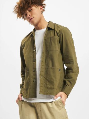 dickies-manner-hemd-kempton-in-olive