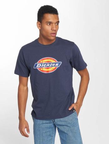 dickies-manner-t-shirt-horseshoe-in-blau