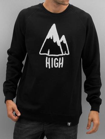 the-dudes-manner-pullover-high-in-schwarz