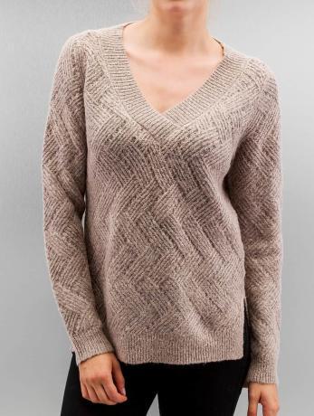 only-frauen-pullover-onlbretagne-in-rosa