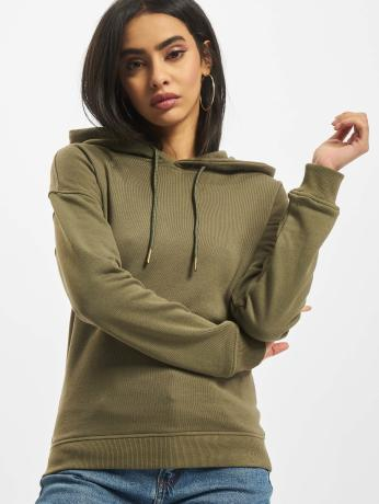 urban-classics-frauen-hoody-ladies-in-olive