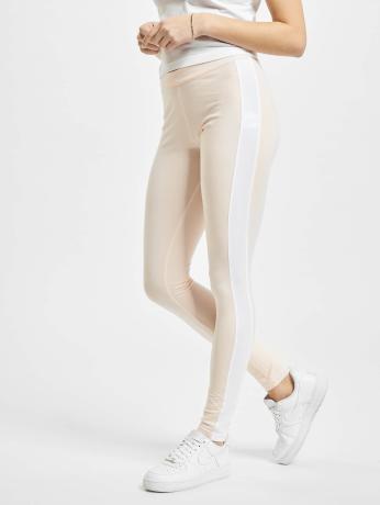 urban-classics-ladies-retro-leggings-pink-white