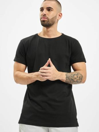 urban-classics-manner-t-shirt-turnup-in-schwarz