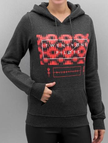 mister-tee-frauen-hoody-ladies-twenty-one-pilots-judge-stripe-in-grau