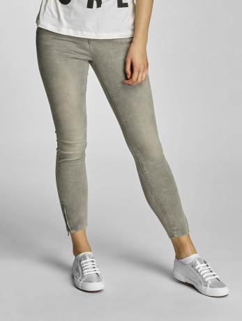 only-frauen-skinny-jeans-onlkendell-in-grau