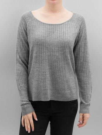 only-frauen-pullover-onlrose-in-grau