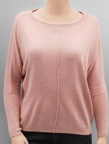 only-frauen-pullover-onlcosy-in-rosa
