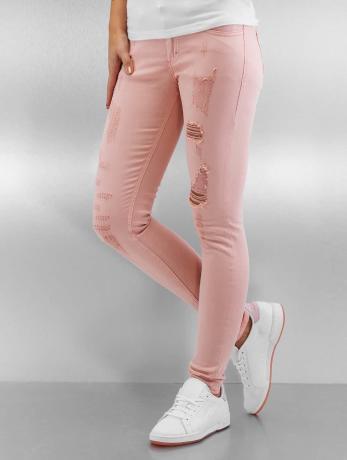 sixth-june-frauen-skinny-jeans-destroyed-in-rosa