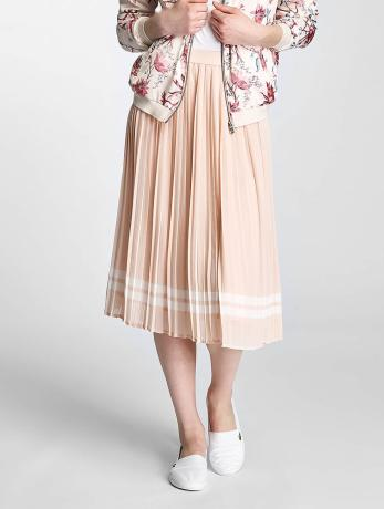 only-onllea-midi-pleated-skirt-peach-whip